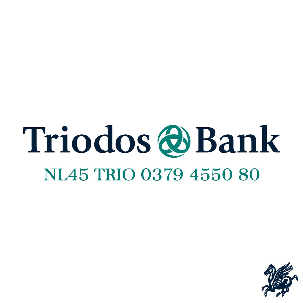 De UHSK is overgestapt naar Triodos Bank!