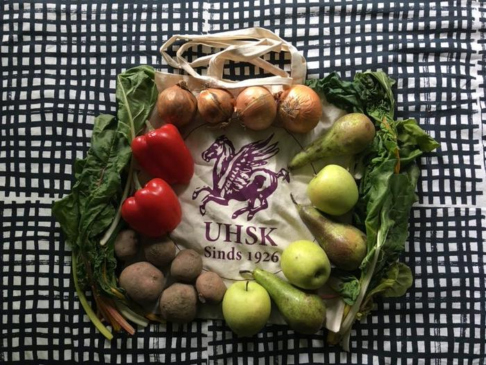 Order your bag of sustainable vegetables for 5 euros at UHSK!