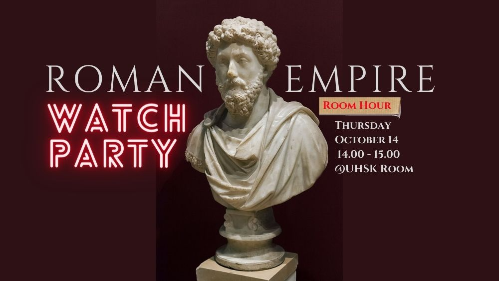 Kameruurtje: Roman Empire Watch Party