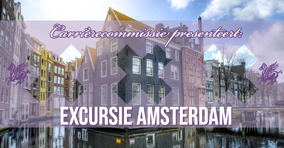 Carrièrecommissie: Excursie Amsterdam
