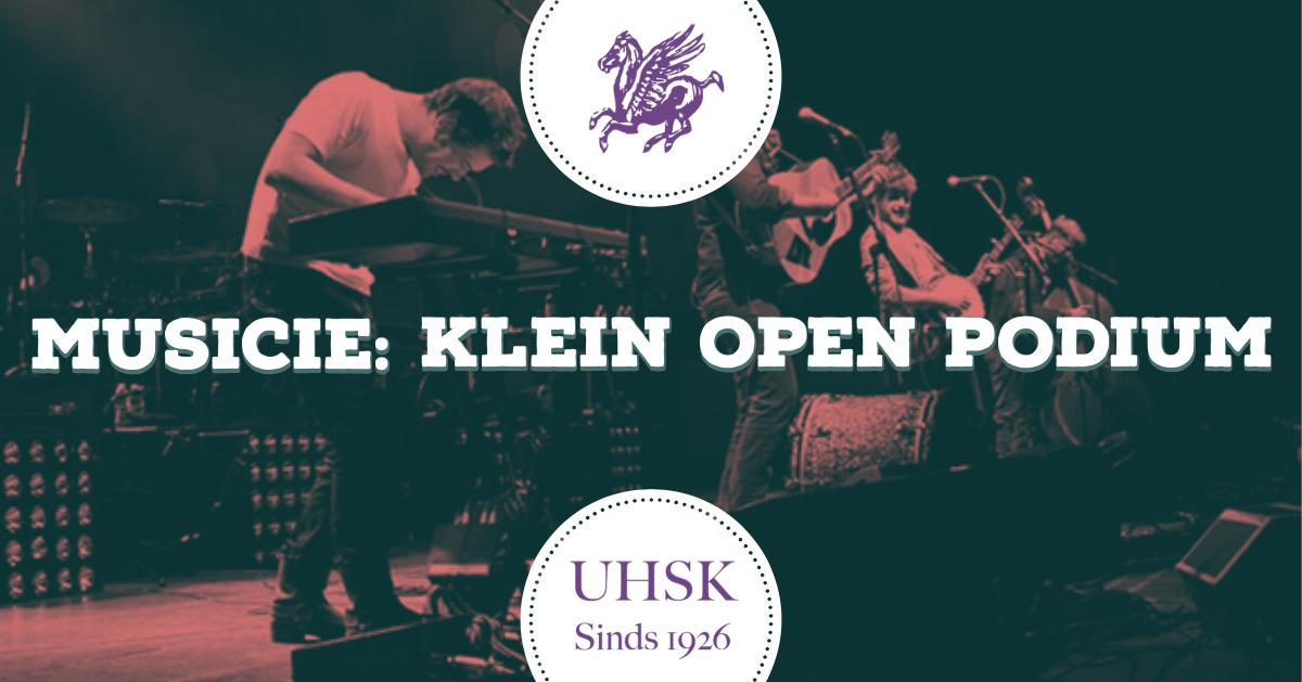 Musicie: Klein Open Podium