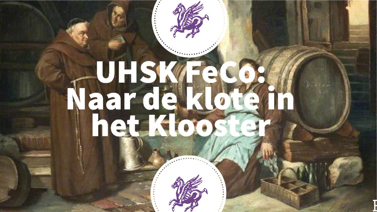 UHSK FeCo: Naar de klote in het klooster