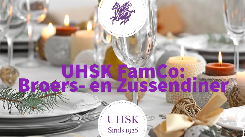 UHSK FamCo: Broers- en Zussendiner