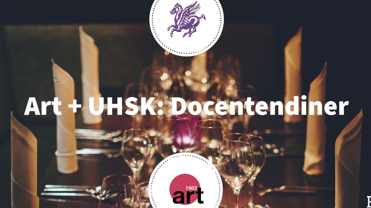 UHSK+Art: Docentendiner