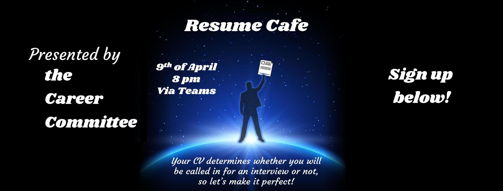 Carcom: CV Café
