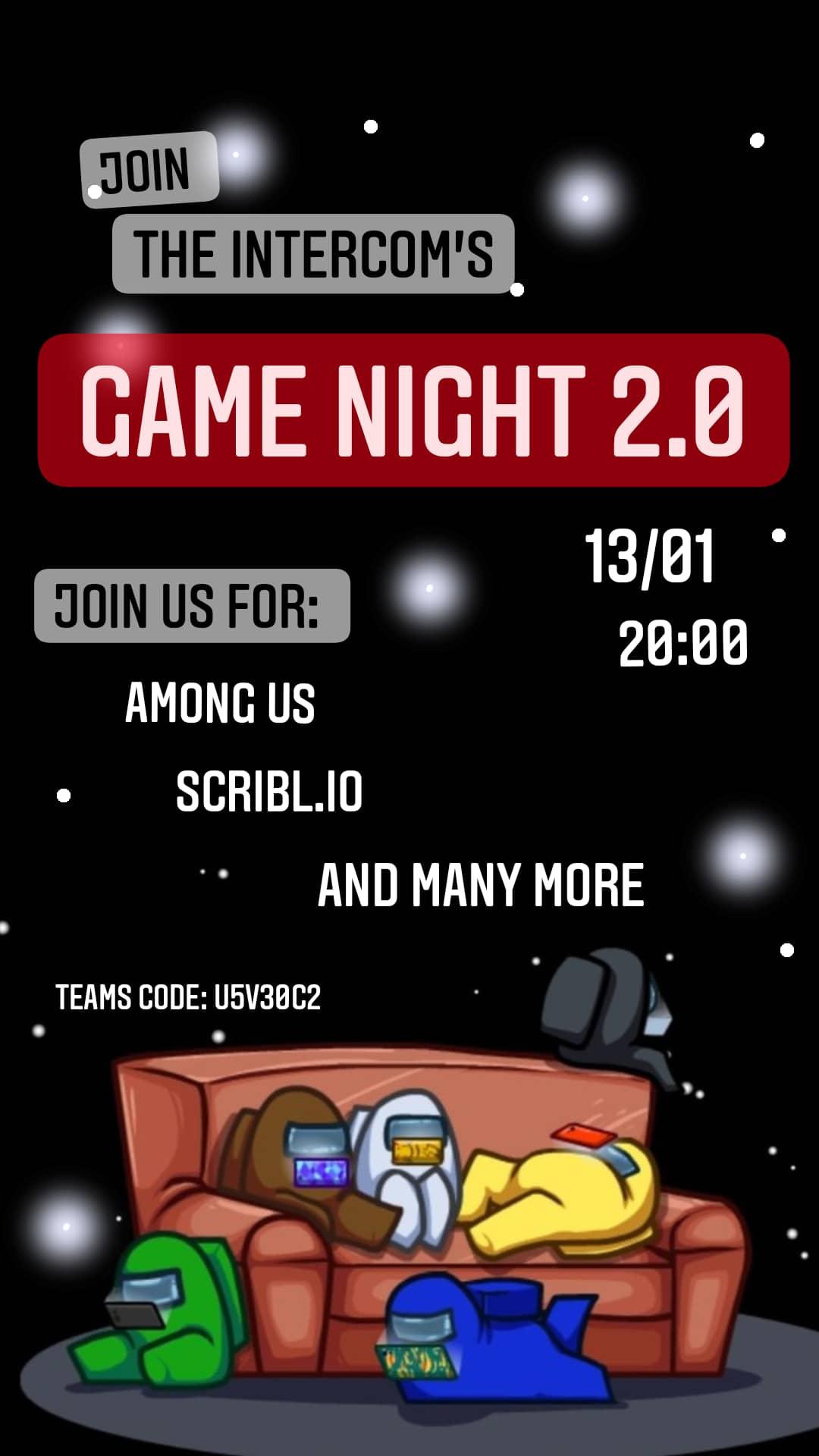 InterCom Game Night 2.0
