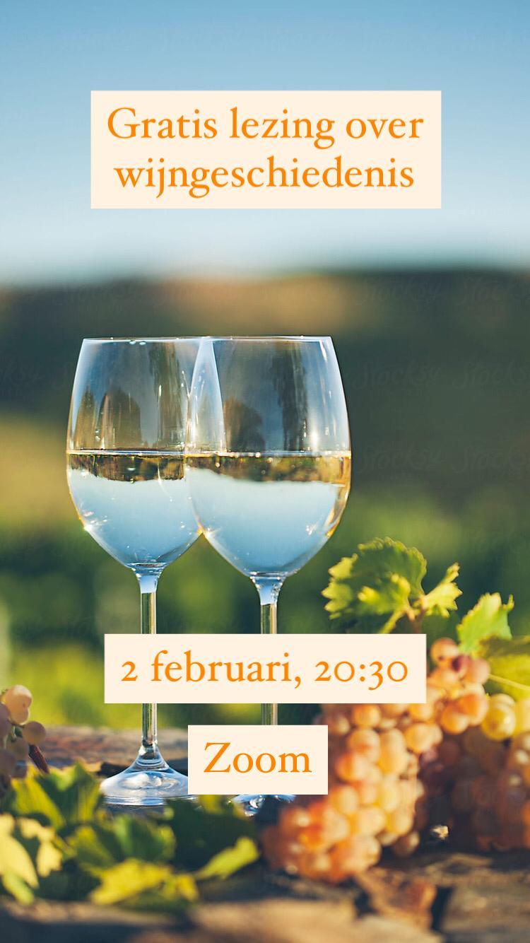 HistoriCie: Lezing Wijngeschiedenis