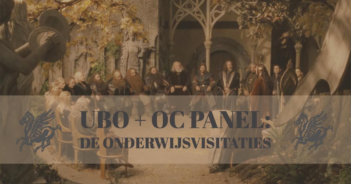 UBO + OC Panel: De onderwijsvisitaties